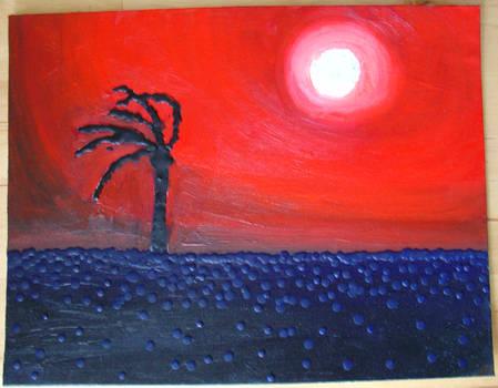 Splatter Sunset