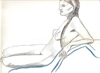 Nude Woman by juani-hokshana