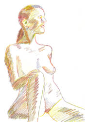 Rainbow Nude by juani-hokshana