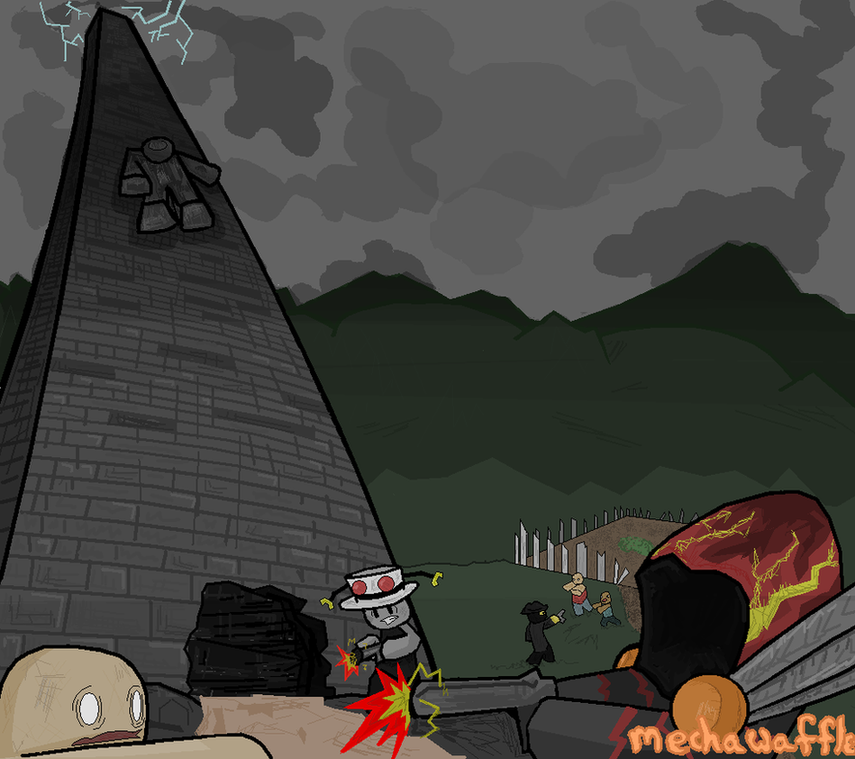 ROBLOX: Zombie Tower By MechaWaffle On DeviantArt