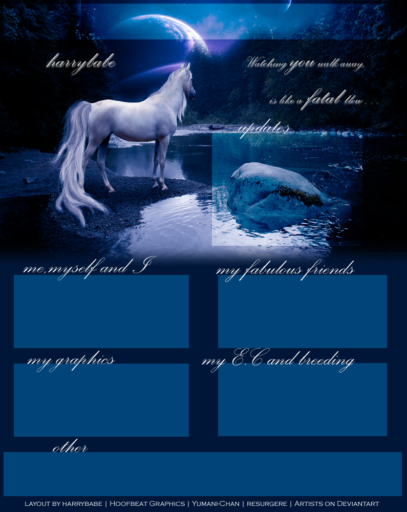 My new Layout by HoofBeat-Graphics
