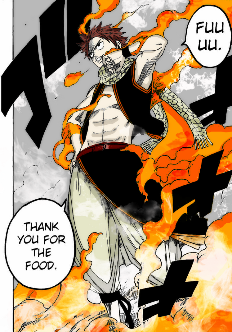 Fairy Tail Natsu Coloring by k11n on DeviantArt