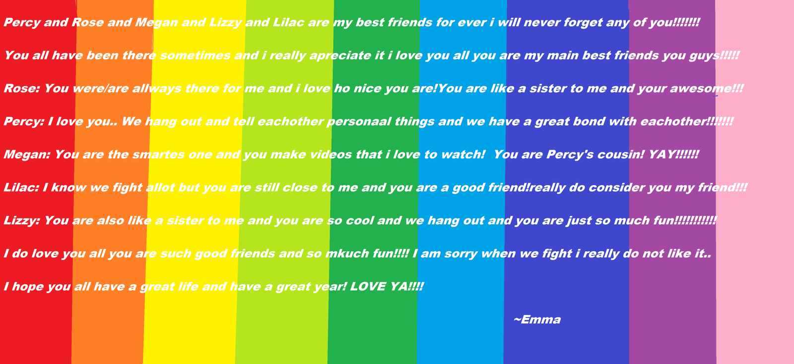 To my best friends ever.... by emma08799