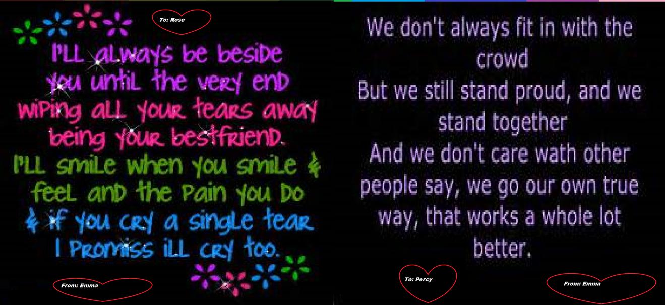 Dear my 2 bestfriends ever.... by emma08799