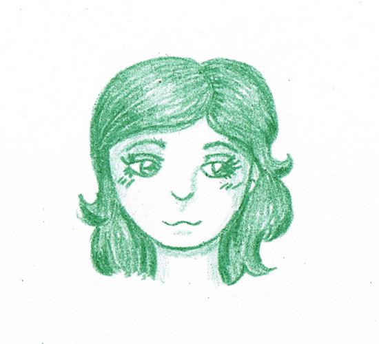 Sketchy selfie by daguchna