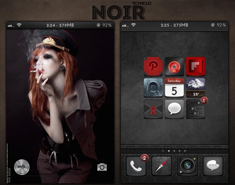 Noir by techniclez