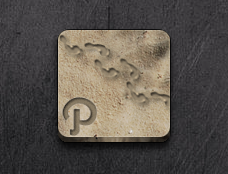 Path Icon - Jaku iOS theme on iPhone/iPod by techniclez