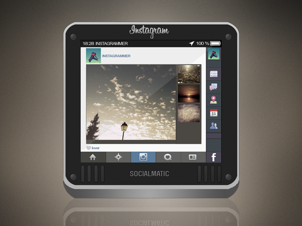 Instacam Icon - Jaku iOS theme on iPhone/iPod by techniclez