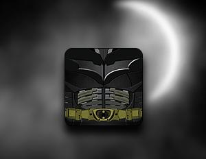 Dark Knight Rises Icon - Jaku theme by techniclez