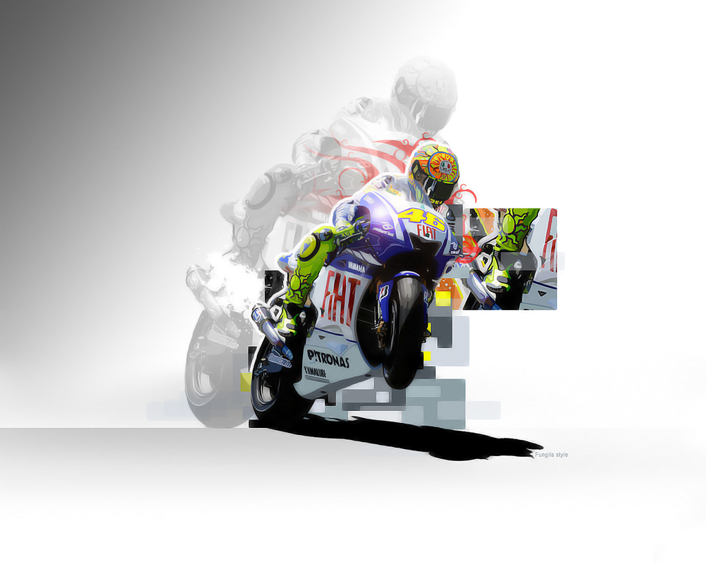 Top Valentino Rossi Artwork Related Wallpapers