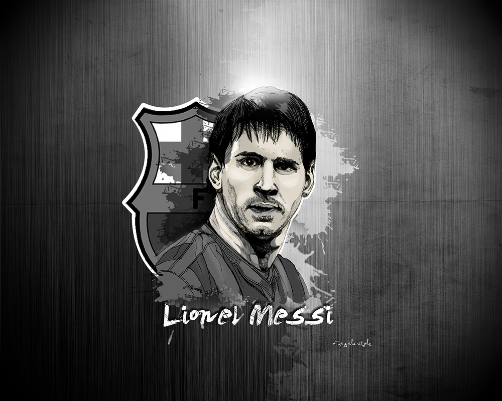 Messi Bw By Fungila