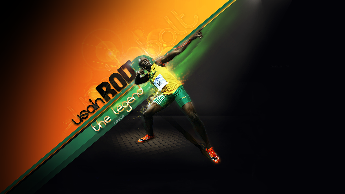 usain bolt by fungila