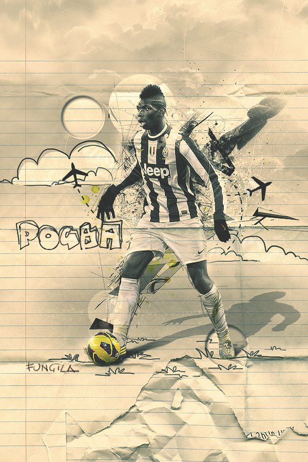 Pogba-. by fungila