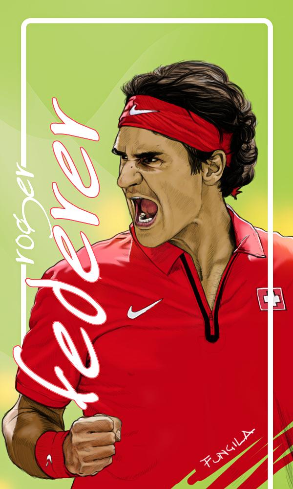 Federer by fungila