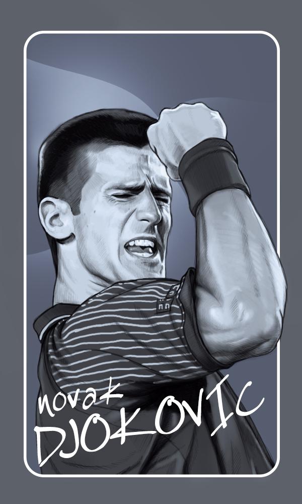 Djokovic by fungila