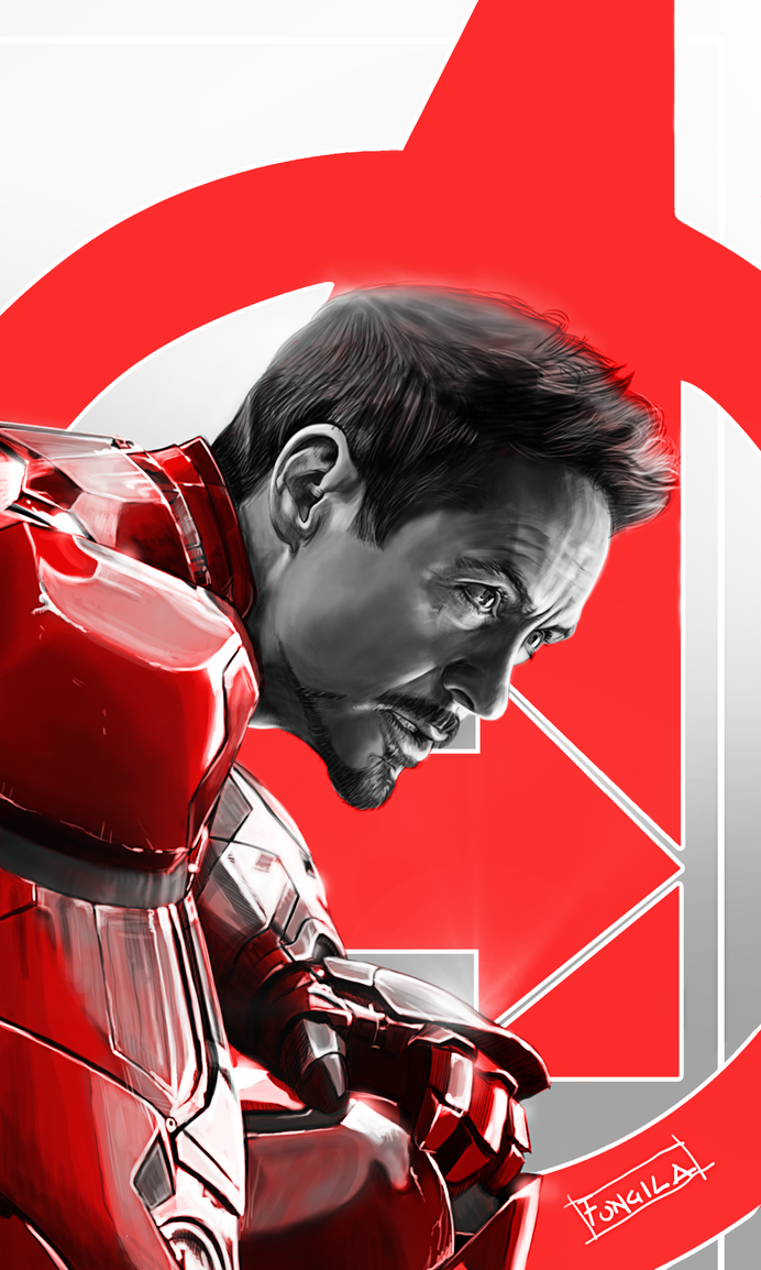 Iron man-age of ultron- by fungila