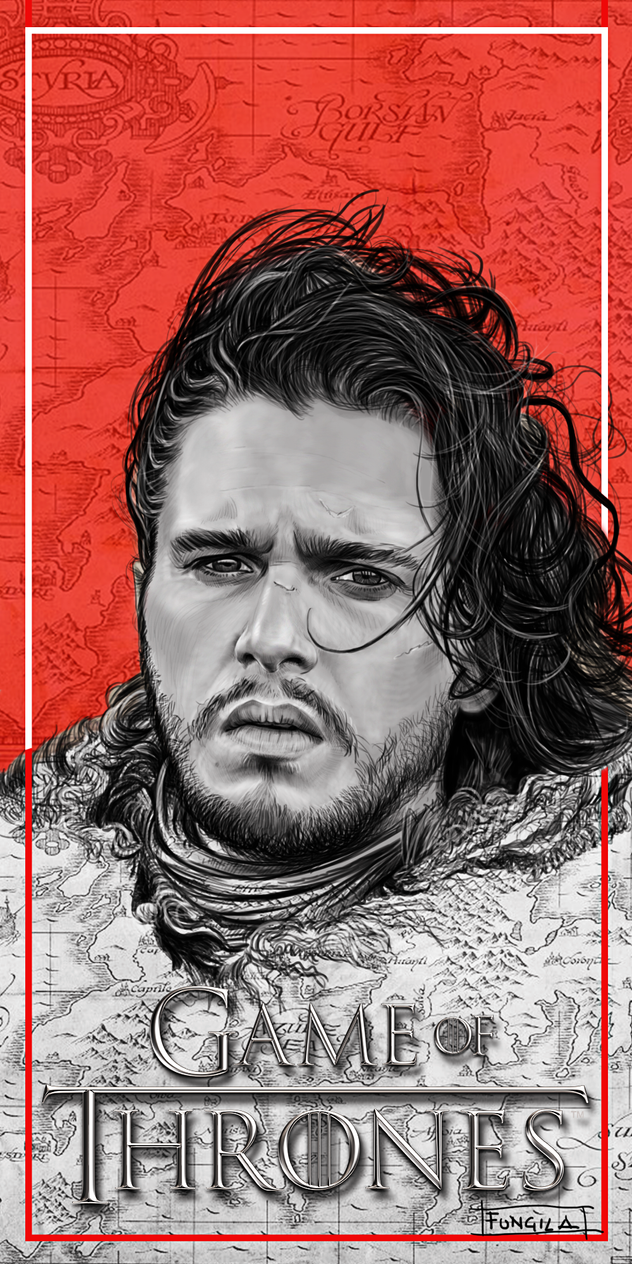 Jon-snow by fungila