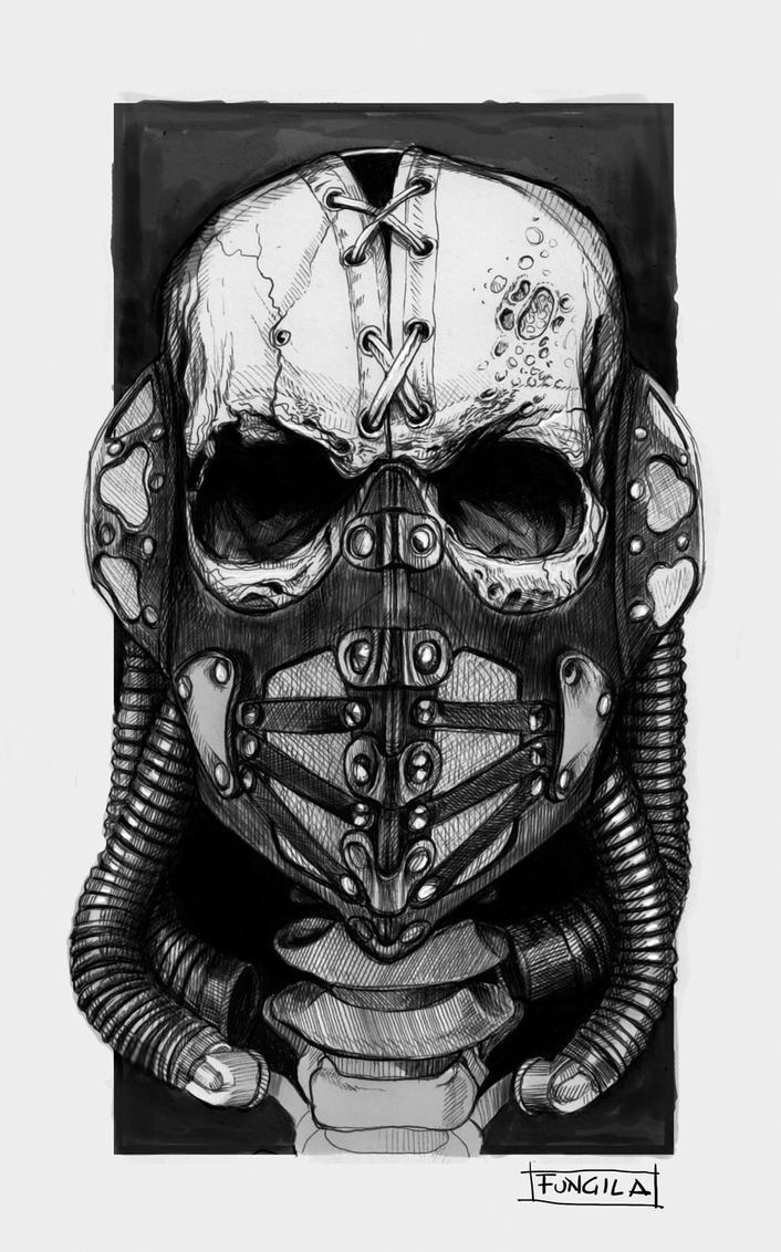Skullmask by fungila