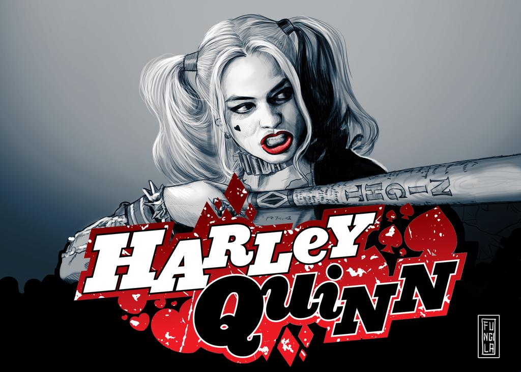 Harley-quinn by fungila