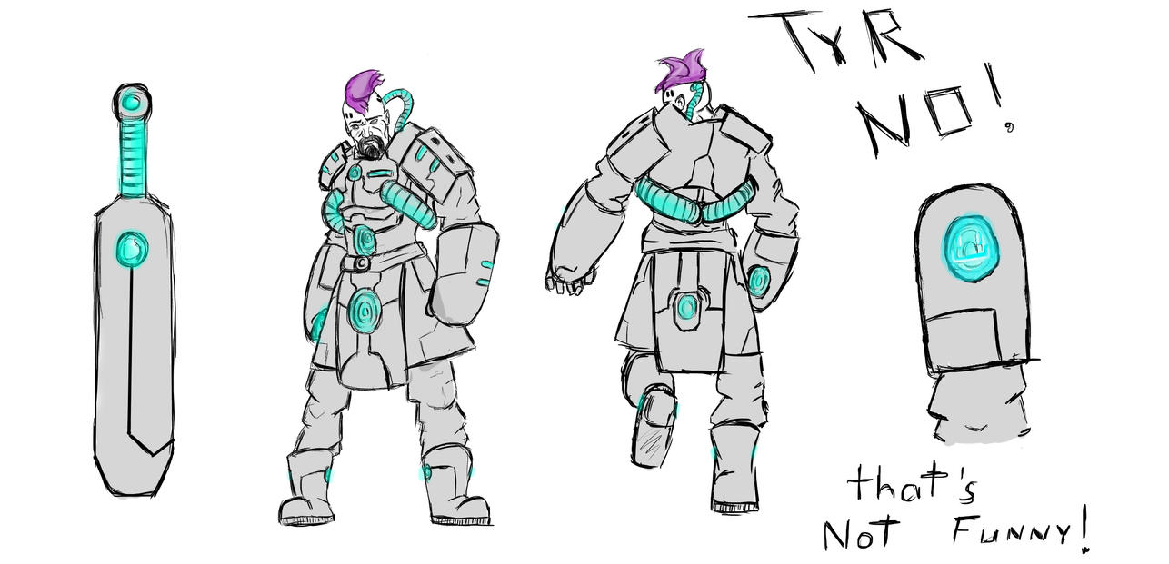 (Smite) Future Tyr 1,5 by CBunnyHop