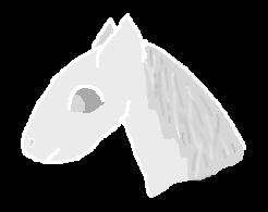 Ghost Horse by blackstormwarrior