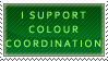 Colour Coordination Stamp by Spikytastic