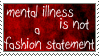 Not a Fashion Statement Stamp by Spikytastic