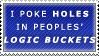 Logic Bucket Stamp by Spikytastic