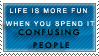 Confuse Them Stamp by Spikytastic