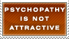 Psychopathy Stamp by Spikytastic
