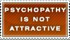 Psychopathy Stamp by Spikytastic