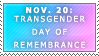 Day of Remembrance Stamp by Spikytastic