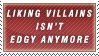 Not Edgy Anymore Stamp by Spikytastic