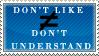 I Understand Fine Stamp by Spikytastic