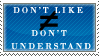 I Understand Fine Stamp by Spikytastic