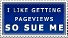 Pageviews Stamp