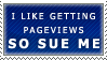 Pageviews Stamp by Spikytastic