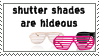 Shutter Shades Suck Stamp by Spikytastic