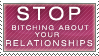 Stop Bitching Stamp by Spikytastic