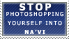 Anti-Photoshopped Na'Vi Stamp by Spikytastic