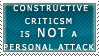 Concrit Stamp