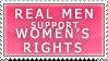 Real Men Stamp