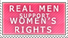 Real Men Stamp by Spikytastic