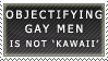 Objectifying Gay Men Stamp by Spikytastic