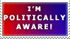 Politically Aware Stamp by Spikytastic