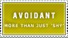 Avoidant Stamp