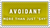 Avoidant Stamp by Spikytastic
