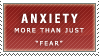 Anxiety Stamp