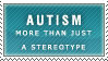 Autism Stamp by Spikytastic