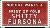 Prints of your Fursona Stamp